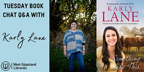 Tuesday Book Chat Q&A with author Karly Lane tickets