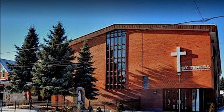St. Teresa Parish Mass - Nov. 28, 5:00 PM English Mass tickets