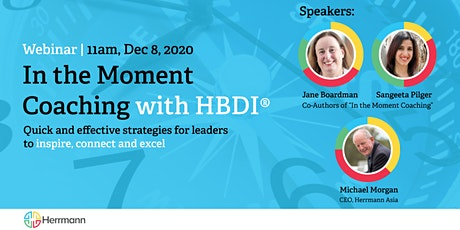 WEBINAR - In the Moment Coaching with HBDI® tickets