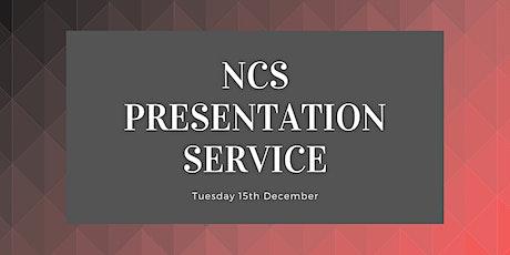 Presentation Service tickets