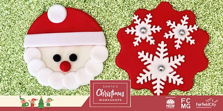 Santa's Christmas Workshop: Frosty Christmas Cupcakes tickets