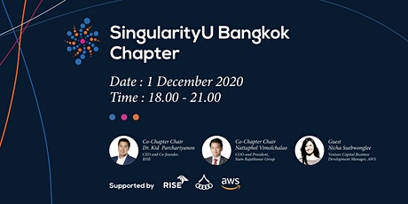 Singularity University Bangkok Chapter - Meetup 2020 tickets