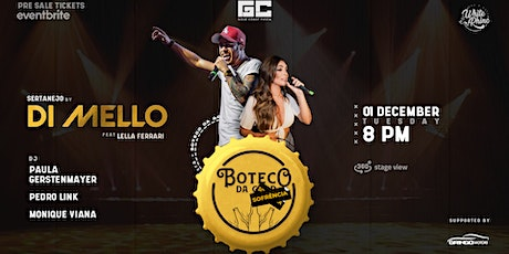 Boteco da Gold - Di Mello(Sertanejo) tickets
