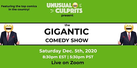 FREE Tickets to The GIGANTIC Comedy Show tickets