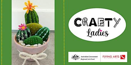 Crafty Ladies - Rock Cactus Garden Workshop tickets