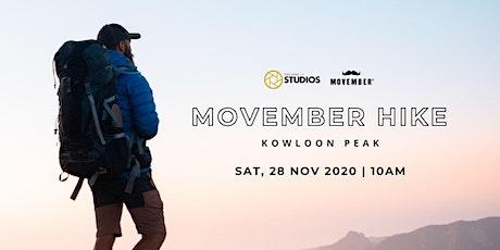 Movember Charity Hike: Kowloon Peak tickets