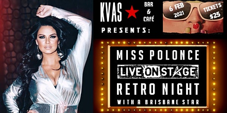 Classy Retro Night with Miss Polonce tickets