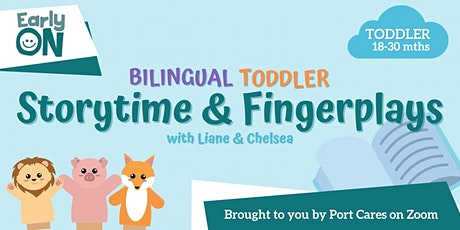 Bilingual Toddler Storytime & Fingerplays tickets