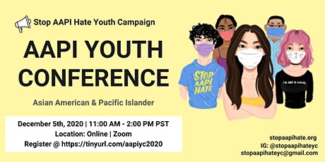 Stop AAPI Hate Youth Campaign Conference tickets