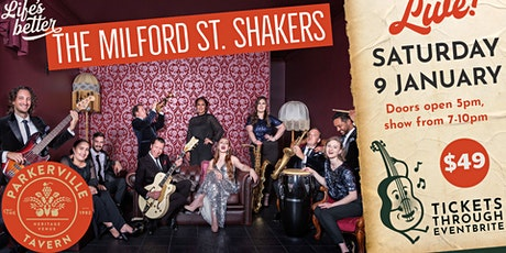 The Milford St. Shakers tickets