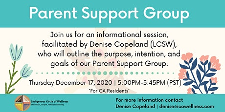 Parent Support Group Info Session tickets