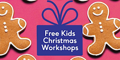 FREE Kids Christmas Gingerbread Decorating tickets