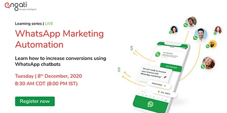 Automate marketing campaigns with WhatsApp entradas