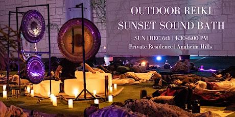 Outdoor Reiki Sunset Sound Bath tickets