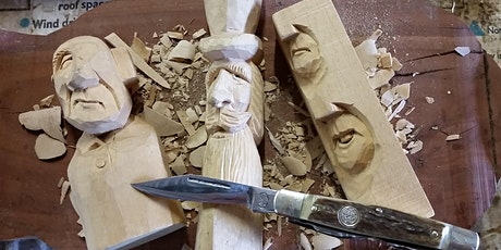 Whittling workshop with renown Waitpinga wood carver Doug Collins tickets
