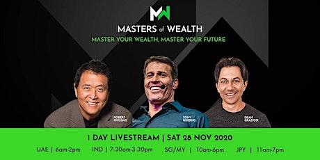 Tony Robbins & Robert Kiyosaki Webinar tickets