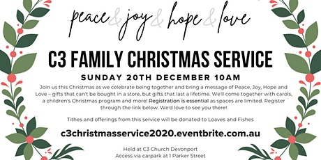 C3 Family Christmas Service tickets