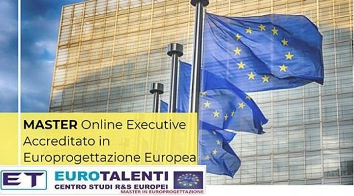 Immagine Master europrogettazione + lavoro