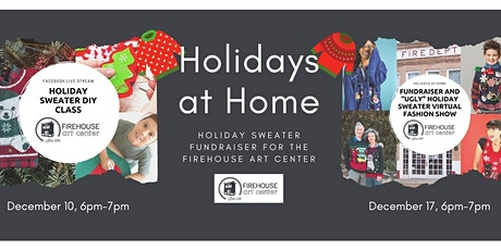 "Holidays at Home ""Ugly"" Holiday Sweater DIY Class and Fundraiser tickets"