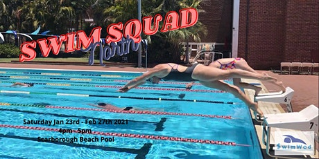 Swim Squad 2021- NoR tickets