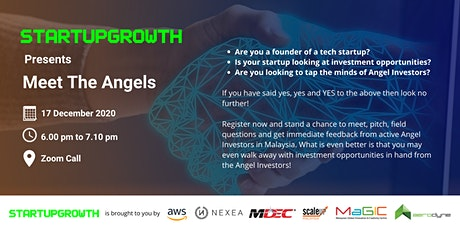 StartupGrowth.Asia: Meet The Angels tickets