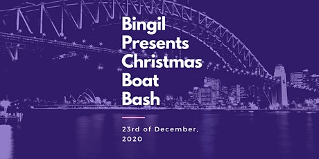 "BOAT PARTY // Bingil Presents //  ""Christmas Bash"" tickets"