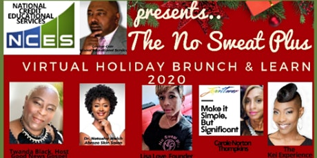 No Sweat Plus Virtual Annual Holiday Brunch & Learn tickets