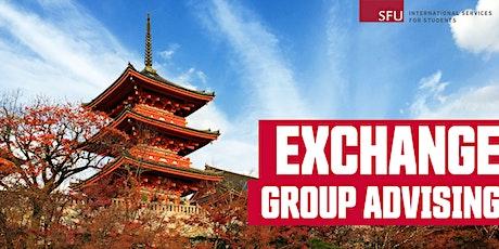 Exchange Group Advising: Waseda University, Kyoto University, UC Berkeley tickets