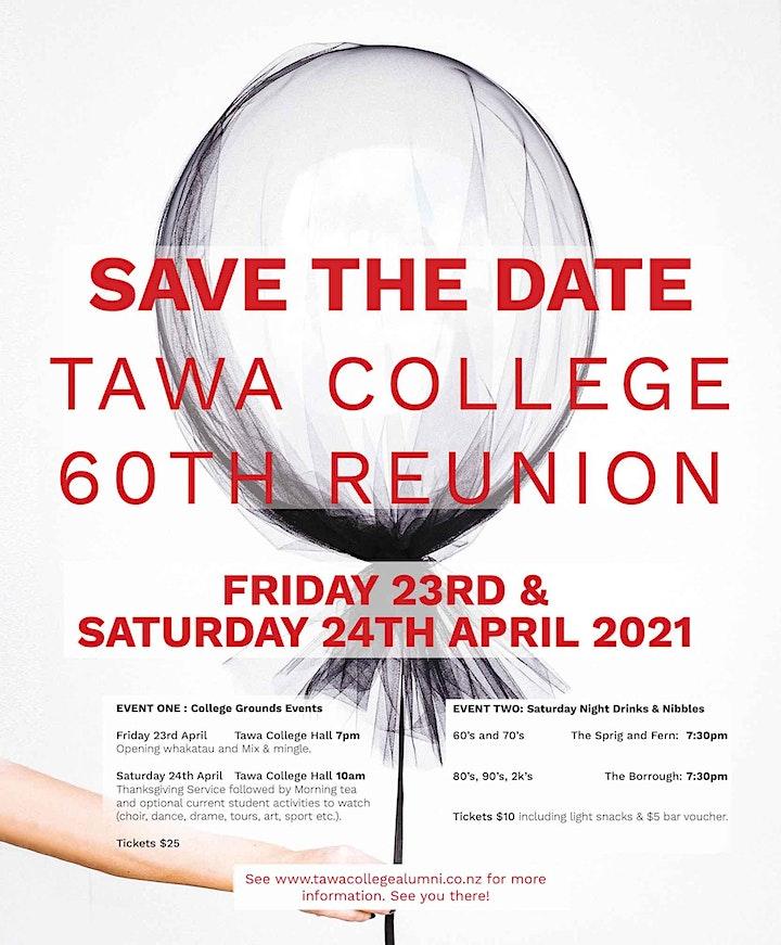 Tawa College 60th Reunion image