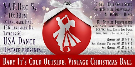 Baby It's Cold Outside Vintage Christmas Ball - USA Dance Upstate tickets