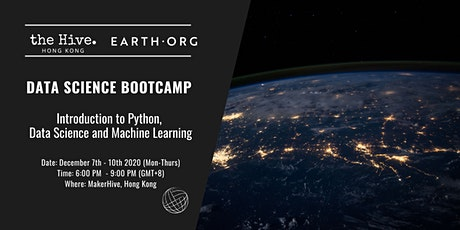 Earth.Org presents: Data Science Bootcamp tickets
