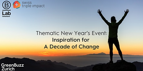 Thematic New Year's Event: Inspiration for A Decade of Change tickets