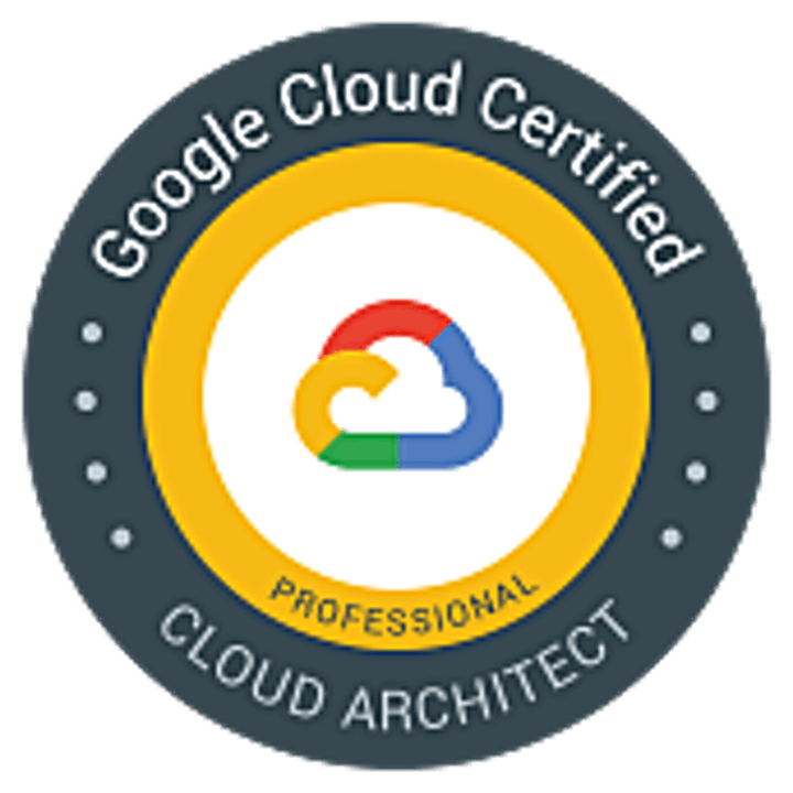 GOOGLE CLOUD CERTIFIED - PROFESSIONAL CLOUD ARCHITECT image