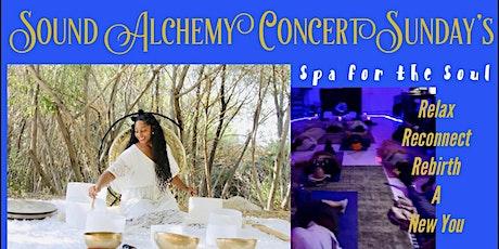 Sound Alchemy Concert Sunday's tickets