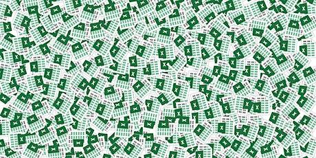 Hyödynnä Exceliä tehokkaasti isonkin työpajan vetämisessä tickets