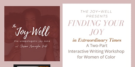Finding Your Joy: A Writing Workshop for WOC tickets