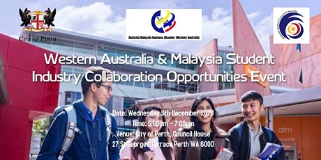 Western Australia & Malaysia Student Industry Collaboration Opportunities tickets