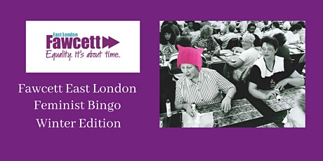 Fawcett Feminist Bingo - Winter Edition - Supporting NIA tickets