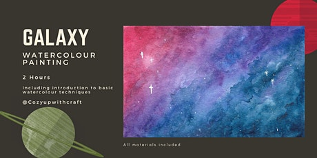 December Holiday Galaxy Watercolour Painting for Beginners tickets