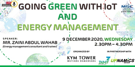 Going Green with IoT & Energy Management tickets