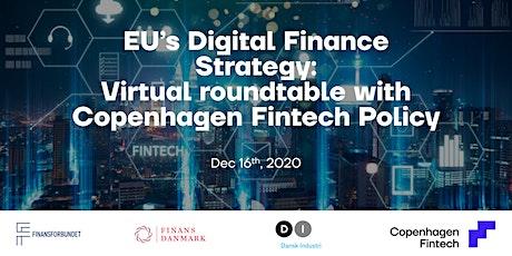 EU's Digital Finance Strategy tickets