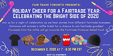Holiday Cheer for a Fairtrade Year: Celebrating the Bright Side of 2020 tickets