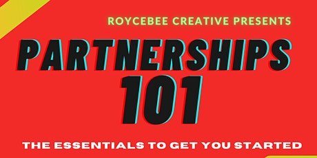 Partnerships 101: The Essentials To Get You Started tickets