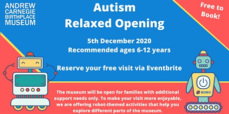 Autism Friendly Visitor Slots tickets