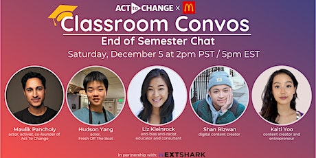 Classroom Convos: End of Semester Chat tickets