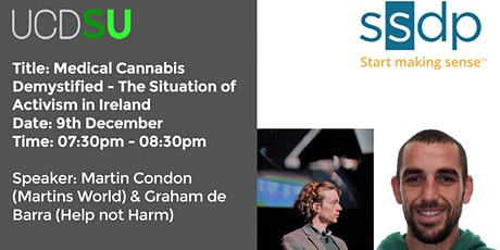 Medical Cannabis Demystified - The Situation of Activism in Ireland tickets