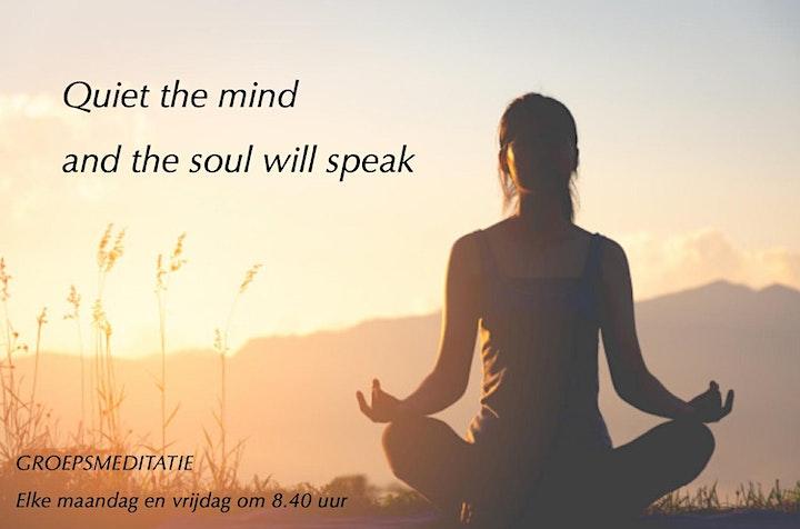 Afbeelding van Wekelijkse meditatie