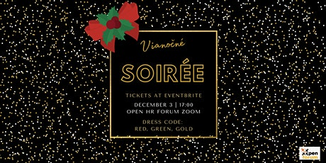 OpenHRForum Vianočné soirée tickets