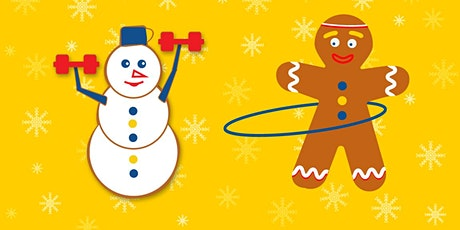 Virtual 12 days of Christmas fitness challenge tickets
