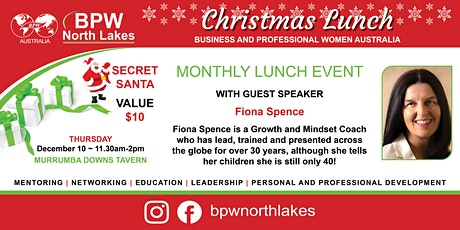 BPW North Lakes December Lunch tickets